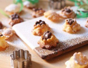 Rose di carnevale: la ricetta dei dolci fritti con la crema di nocciole