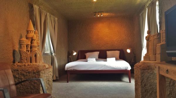 La camera in sabbia degli ZandHotel