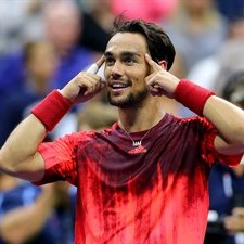 Super Fognini batte Nadal