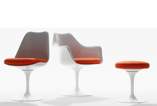 Sedie Tulip Saarinen chair Knoll