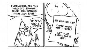 10 divertenti vignette su Albus Silente (e non solo)