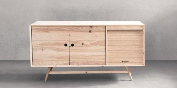 Mobili ventura in legno sostenibile internet italiano for Mobili design italiano