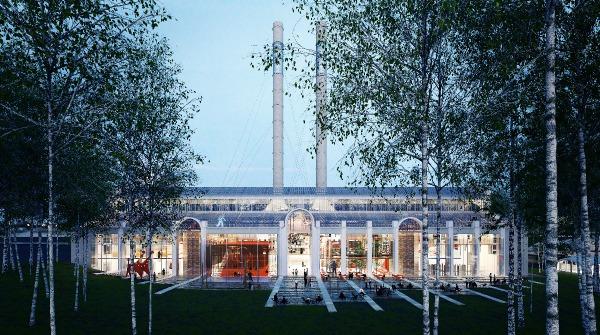 Il render del progetto di  Renzo Piano Building Workshop