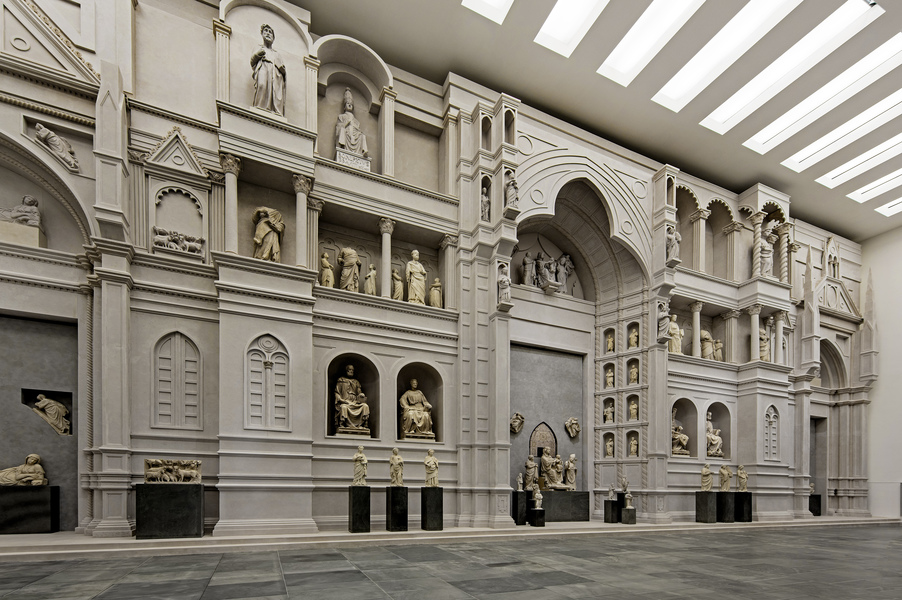 Modello dell'antica facciata del Duomo di Firenze di Arnolfo di Cambio, Museo dell'Opera del duomo, foto Antonio QuattroneAQ08372