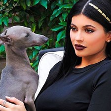 Kylie Jenner, coccole con Norman