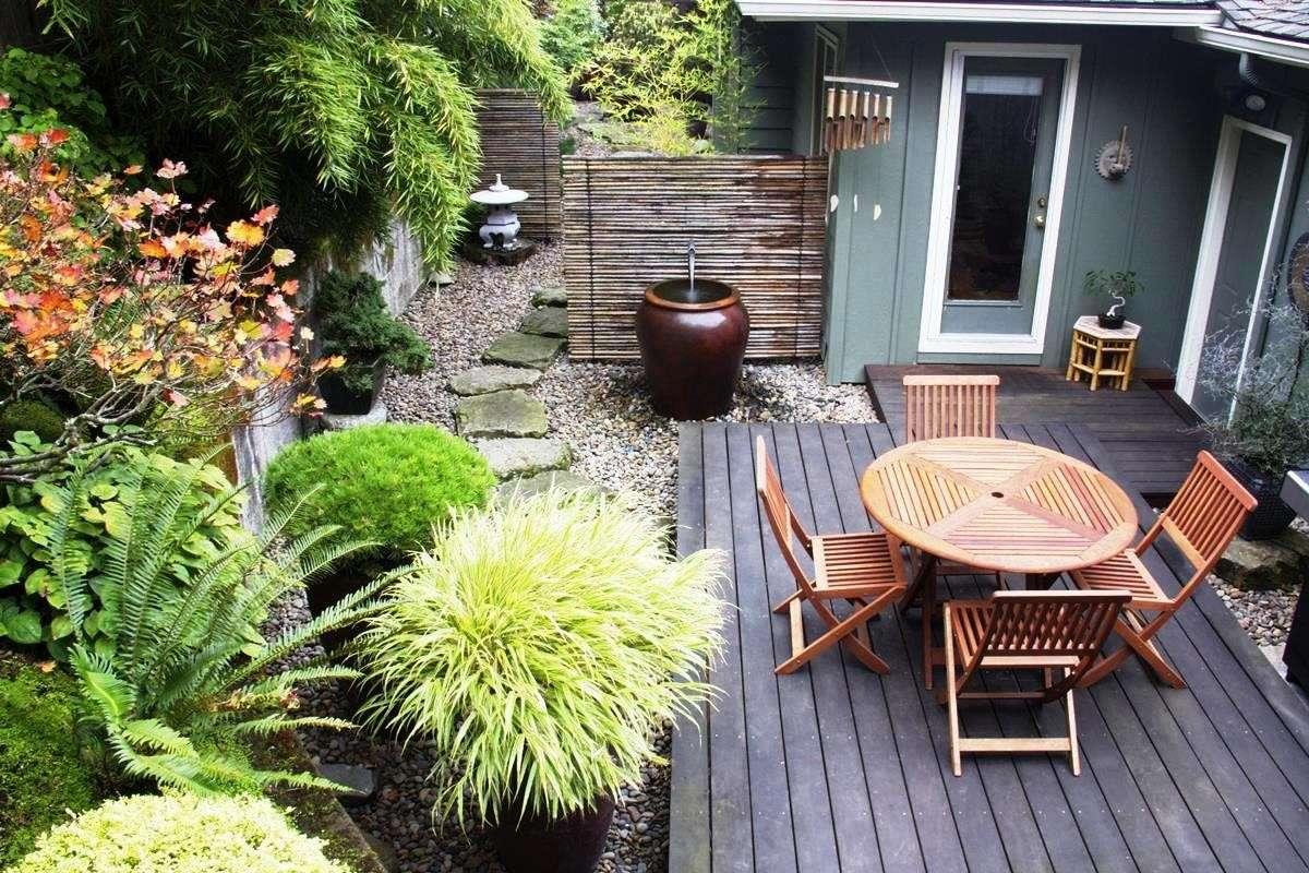 Giardino Giapponese Sul Balcone : Composizione giardino con giardino roccioso sul balcone u mekan