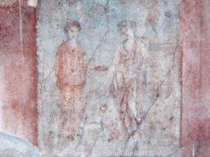 Il mito di Bacco e Arianna: l'affresco di Pompei sfregiato che racconta l'ebbrezza d'amor