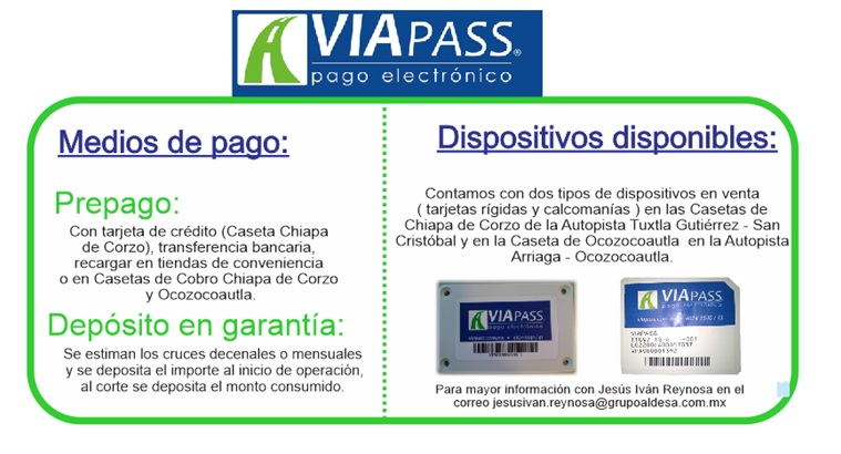 Viapass: Vanaf 1 januari 2018,