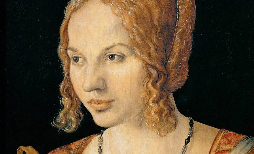 Ritratto di Giovane Veneziana (1505), Kunsthistorisches Museum, Vienna