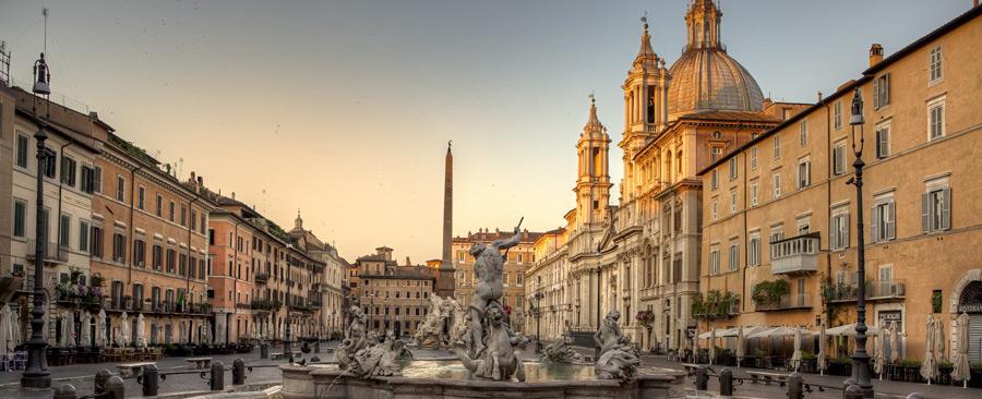 La presenza di Bernini a Piazza Navona: Fontana dei Fiumi