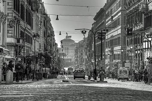 Rione Monti a Roma tra Via Nazionale e Via Cavour