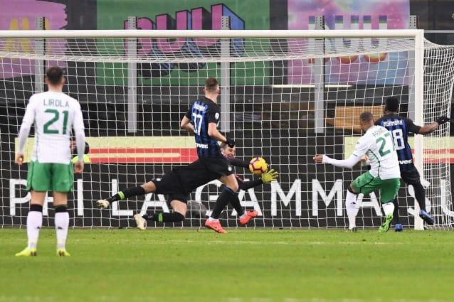 Inter-Sassuolo, le pagelle commentate sul risultato di 0-0