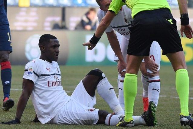 Milan, come sta Cristian Zapata e quando tornerà in campo