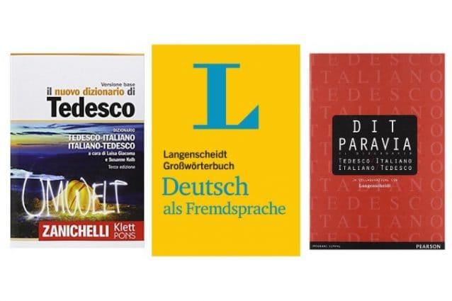 I migliori dizionari tedesco italiano e monolingua