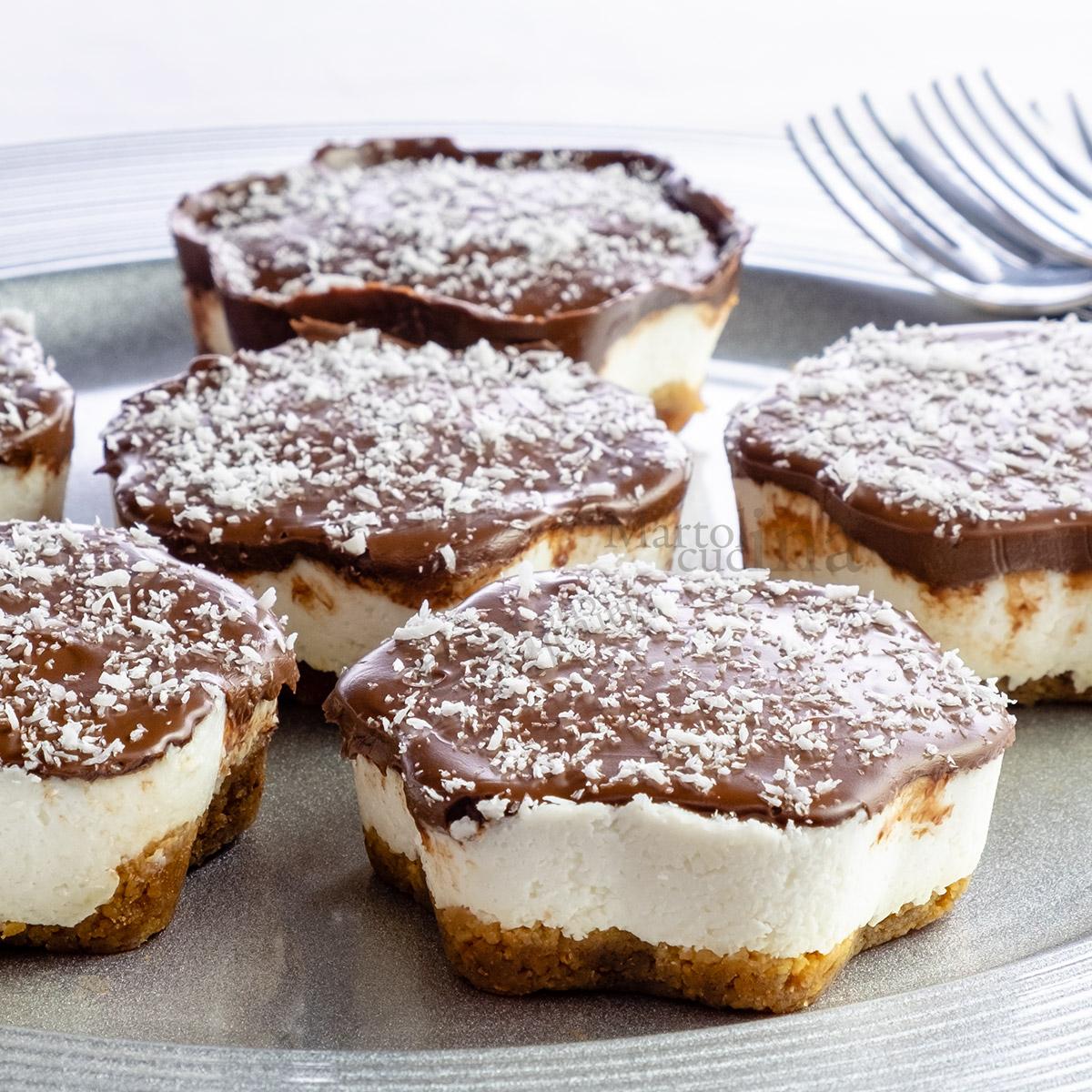 ingredienti cheesecake cocco e Nutella